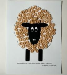 Lost Sheep Parables on Christian Games and Crafts at http://christiangamesandcrafts.com/subjects/items/101