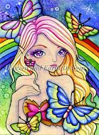 HED 139 - Rainbow Butterfly