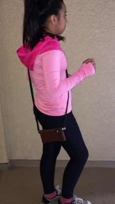 Headed for a workout with my JennyBag