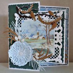 Tineke's kaartenhoekje: Winterkaarten Marianne Design, Birthday Cards, Home Decor, Scrapbooking, 3d, Cards, Bday Cards, Decoration Home, Room Decor