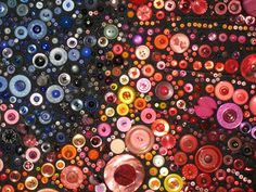 ohhh a button quilt - cool idea!