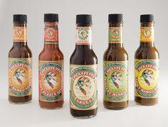 5 pickapeppa sauce jamaica original gingery mango spicy mango hot red pepper  #Pickapeppa