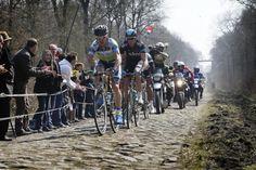 Stuart Ogrady ( Orica Greenedge Cycling Team) and Mathew Hayman (Sky)