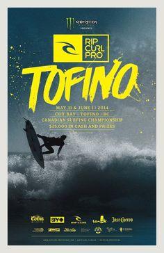 Rip Curl Pro - Tofino Poster