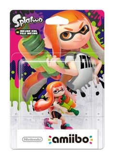 amiibo gar on inkling splatoon 2 switch acheter vendre. Black Bedroom Furniture Sets. Home Design Ideas