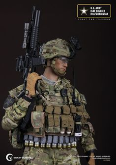 onesixthscalepictures: Crazy Dummy US ARMY ISAF Soldier In Afganistan : Latest product news for 1/6 scale figures (12 inch collectibles) fro...