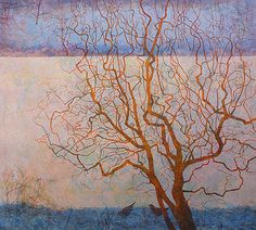Victoria Crowe - Printmaker at the Scottish Gallery, Edinburgh Forest Art, A Level Art, National Portrait Gallery, Landscape Paintings, Landscapes, Art Paintings, Photo Tree, Modern Landscaping, Winter Garden