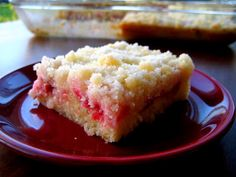 Rhubarb Platz. You have not lived until you've tried this!