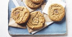 Spelt flour has a sweet, nutty flavour that is perfect for baking. Find our recipe for spelt ginger biscuits here. Country Living Magazine, Golden Syrup, Pudding Cake, Biscuit Recipe, Catering, Biscuits, Food And Drink, Spelt Flour