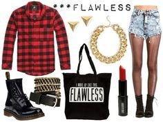 Beyonce flawless look