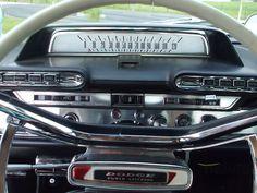 My Favorite Chrysler Story – The 1962 Dodge Custom 880 Series Dodge Dart, Dashboard Car, 50s Cars, Truck Interior, Interior Design, Car Storage, Sweet Cars, Drag Cars, Dashboards