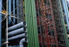 Paris, Centre Georges Pompidou, Renzo Piano and Richard Rogers architects