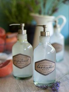 Beautiful smelling hand soap