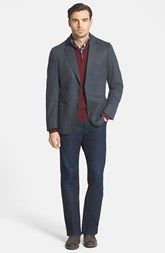 FLYNT Sport Coat, Nordstrom Sweater & 7 For All Mankind® Jeans