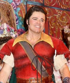 Donny osmond/ my sister and I love beauty and the beast and I love donny osmond so it's perfect !