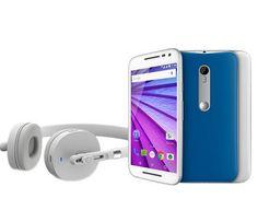 """Moto G 3ª Geração Edição Especial Music Dual Chip Tela HD 5"""" 16GB 4G Câmera 13MP  Fone Sem Fio Bluetooth << R$ 80999 >>"""
