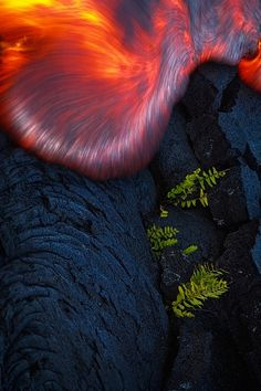Lava flow....to be a rock and not to roll.