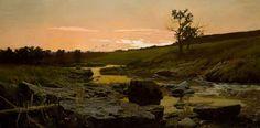 Sunset by Frederick Judd Waugh - ArtPaintingArtist