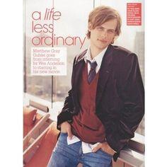 Matthew Gray Gubler Model Portfolio | Matthew Gray Gubler Fan - dna Model Management - Portfolio/011