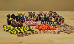 Handmade Agricola Pieces