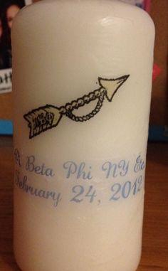 Pi Phi candle #piphi #pibetaphi
