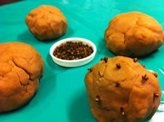Cinnamon playdough with cloves for decorating fun! Children loved the sensory experience!