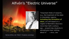 Wal Thornhill: Stars in an Electric Universe, Part 2 Theories About The Universe, Electric Universe, Theory Of Relativity, Astrophysics, Present Day, Thought Provoking, Mythology, How To Apply, Science