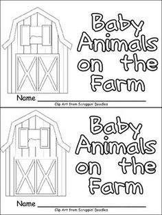 """This emergent reader little book will help young students practice early reading skills, while learning about the farm animals!! Throughout the book, students learn about farm animals and their babies. The pattern of the text in the book is """"Look at the mother (animal). She has (number) little (baby animals). Many farm vocabulary words are included, such as cow, calf, horse, foal, goat, kid, sheep, lambs, duck, ducklings, cat, kittens, pig, piglets, dog, puppies, goose, gosling, hen, and…"""