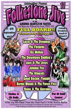 Holiday Rock RocknRoll Folkestone Jive 11 Festival. Details on Spiral Jukebox Alternative Rockabilly Shopping Directory www.nicheorunique.com #spiraljukebox #nichorunique #tattoolifestyle