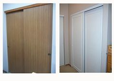 Exceptional Closet Door Makeover On The Cheap. Great, Inexpensive Way To Dress Up Some  Closet