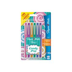 Shop for Paper Mate Flair Candy Pop 6 pack at wilko - where we offer a range of home and leisure goods at great prices. Guide For School, Felt Tip Markers, Art Supplies Storage, Mat Paper, Candy Pop, Stationery Pens, Pens And Pencils, Skin Care Tools, Gel Pens