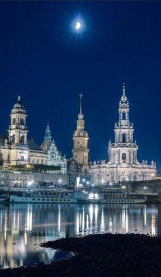 Moonlight - Dresden, Germany , from Iryna