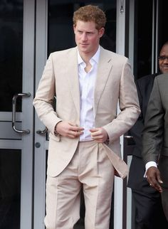 Dapper Prince Harry