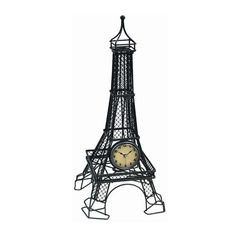 Special Offers - Infinity Instruments The Eiffel Tower Table Clock - In stock & Free Shipping. You can save more money! Check It (April 08 2016 at 05:21PM) >> http://wallclockusa.net/infinity-instruments-the-eiffel-tower-table-clock/