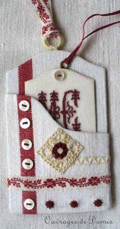 Cartonnette - Gabarit gentiment offert par Sylvaine dans le tableau To do List