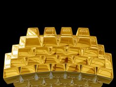 Gold bar. by Buy Silver Gold, via Flickr