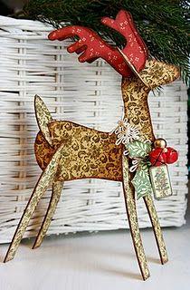 Holiday Reindeer DIY