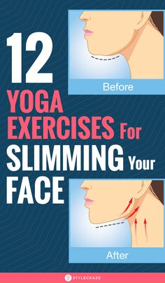Most of us are so worried about the fat in our body that we forget to notice the fat in our face. Facial Yoga will help you to slim down your face. Gym Workout Tips, Fitness Workout For Women, Yoga Fitness, Health Fitness, Workout Routines, Workouts, Face Yoga Exercises, Face Tightening, Face Health