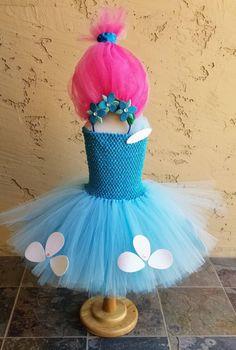 Trolls Princess Poppy Tutu Costume Dress, Poppy Tutu, Poppy Dress, Trolls Tutu d… - Christmas-Desserts Princess Poppy Dress, Princess Poppy Costume, Troll Costume, Costume Dress, Kids Tutu, Halloween Kids, Halloween 2018, Diy Costumes, Headband Hairstyles