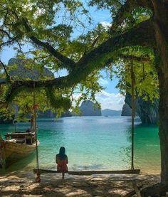Peaceful Setting in Krabi, Thailand