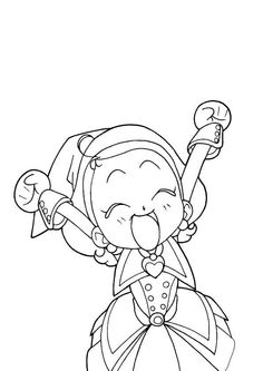 Magical Doremi Sketch-Free Download,http://colorasketch.com/magical-doremi-sketch-free-download/