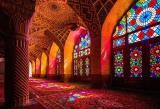 Inspiração: Mesquita Rosa (Nasir al Mul Mosque Shiraz_Iran) Shiraz Iran, Iran Architecture, Beautiful Architecture, Beautiful World, Beautiful Places, Amazing Places, Pink Mosque, Teheran, Photo Voyage