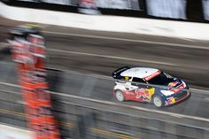 Sébastien Loeb won the RallyCross final by more than 12 seconds, showing why he's an eight-time defending WRC champion.