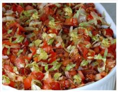 best yumy recipes: BLT Dip