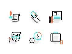 Business Icons by Dmitri Litvinov for Input Logic #icon #picto