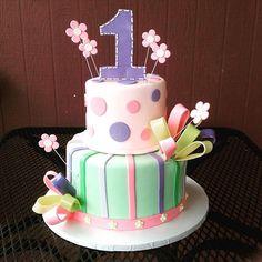 1st birthday cake #customcakes #hawaii #1stbirthday