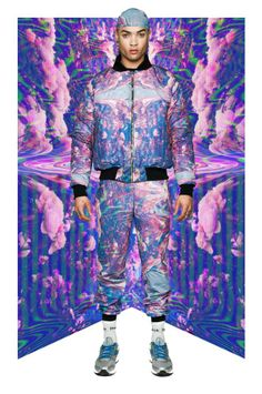Psychedelic Sci-Fi Streetwear - The Roberto Piqueras Fall/Winter 2013 Collection is Electric Hued (GALLERY)