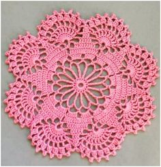 How to Easily Crochet Doily with Free Pattern If you think the doilies are too complicated, you are wrong, at the first sight this great and stunning may seem really difficult to some, but they are very These amazing Crochet Leaves Granny Squares features Free Crochet Doily Patterns, Crochet Motifs, Crochet Flower Patterns, Crochet Squares, Thread Crochet, Crochet Designs, Crochet Crafts, Crochet Flowers, Crochet Projects