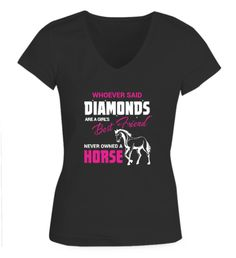 Whoever said diamonds were a girl's best friend never owned a horse - Fabrily