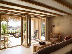 Beautiful Villas, Beautiful Hotels, Amazing Hotels, Boutique Spa, Two Bedroom Suites, Unique Hotels, Paros, Minimalist Interior, Ideal Home